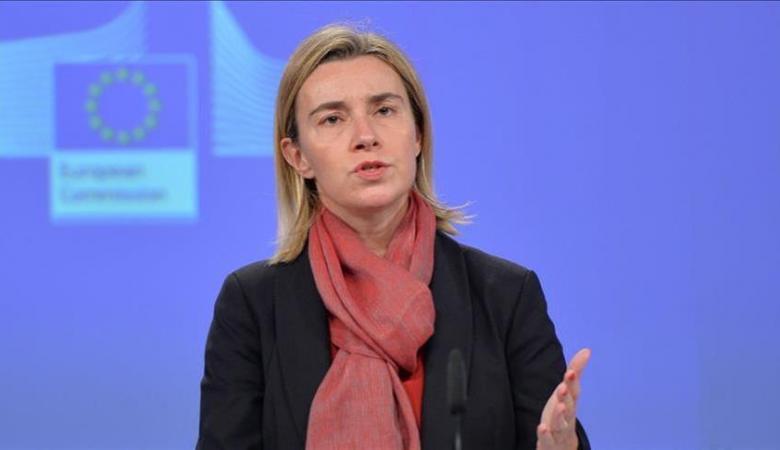 موغيريني: نريد تفعيل مفاوضات السلام في سوريا بعد الضربات العسكرية