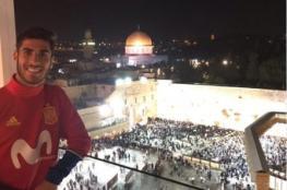 أسينسيو يثير غضب الفلسطينين والعرب