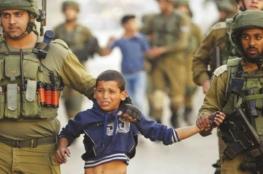 احصائية : الاحتلال اعتقل 889 طفل قاصر خلال العام 2019