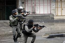 اصابة شاب في مواجهات مع الاحتلال بمدينة الخليل