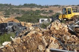 محافظ جنين يستنكر الاعتداء الاسرائيلي الخطير على مقبرة جنوب غرب المدينة