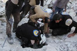 غارة روسية تقتل 22 مدنيا سورياا في ادلب