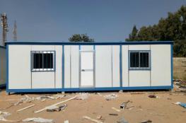 الاحتلال ينصب بيوتا متنقلة في قرية كيسان قضاء بيت لحم