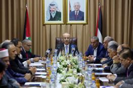 الحمد الله: سننفذ اتفاق القاهرة بشكل فوري