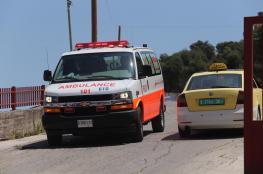 إصابة 6 مواطنين في حادث سير بمدينة البيرة