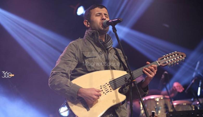 """الفنان المصري """"حمزة نمرة """" سيغني في رام الله"""