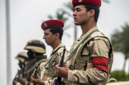 الجيش المصري يعلن مقتل ضابطين و13 مسلحاً في سيناء