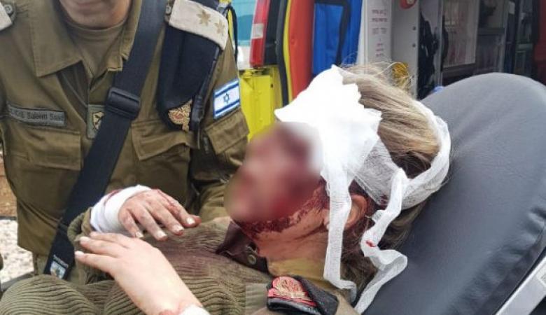 المجندة الاسرائيلية التي تعرضت للضرب في جنين تتحدث لأول مرة عن ما جرى معها