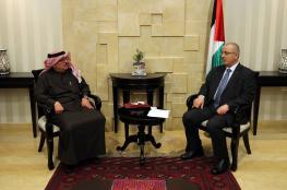 الحمد الله يبحث مع السفير العمادي سبل دعم كهرباء غزة