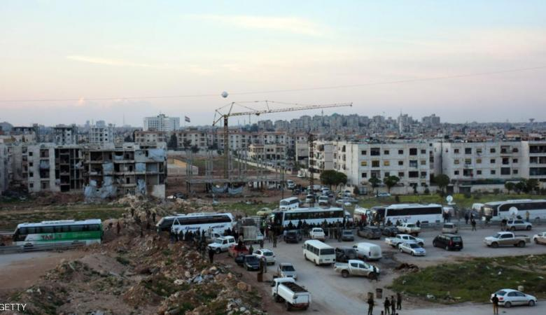 استئناف عمليات إجلاء المدن الأربع في سوريا