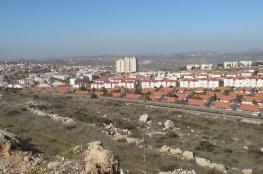 الاستيطان الاسرائيلي يواصل توسعه في الضفة الغربية