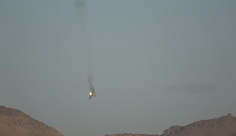 الحوثيون يسقطون طائرة للتحالف العربي جنوب السعودية