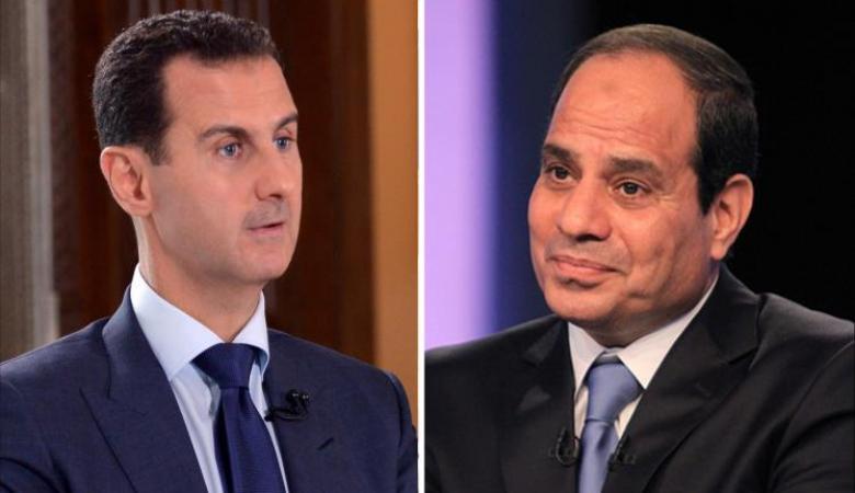 قمة محتملة بين الأسد والسيسي