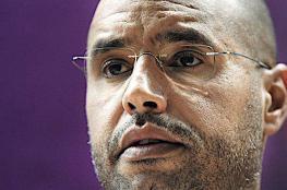 """سيف الاسلام القذافي : لدي دلائل دامغة تدين الرئيس الفرنسي السابق """"ساركوزي """""""