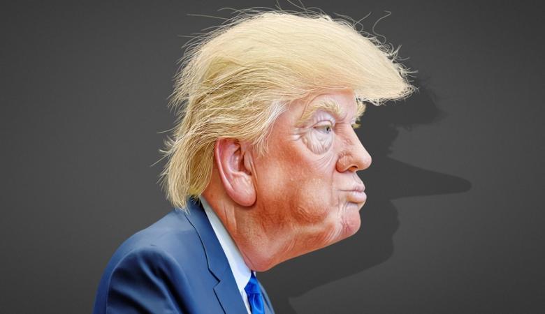 ترامب يتجه الجمعة لفحص دماغه ان كان مجنونا او عاقلاً