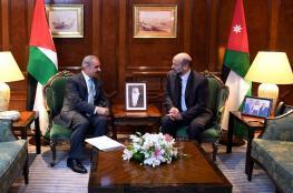 اشتيه : العلاقة مع الحكومة الاردنية آخذة بالتطور والازدهار