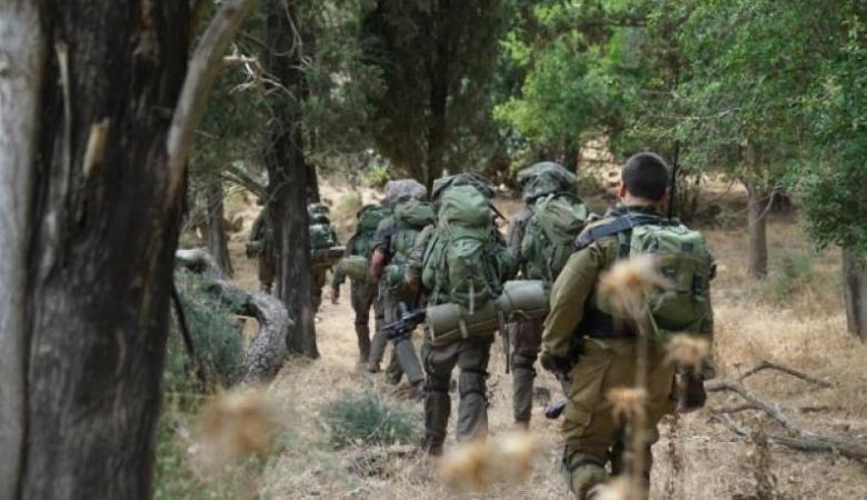 مناورة عسكرية بمستوطنات غلاف غزة الأربعاء