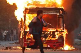 قتلى وجرحى جراء حريق بمخزن في الهند