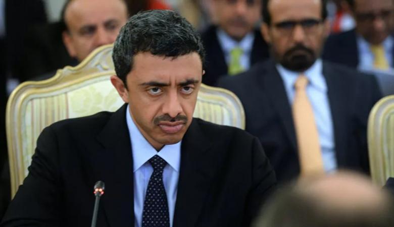 عبد الله بن زايد يوجه رسالة الى نظيره اليوناني
