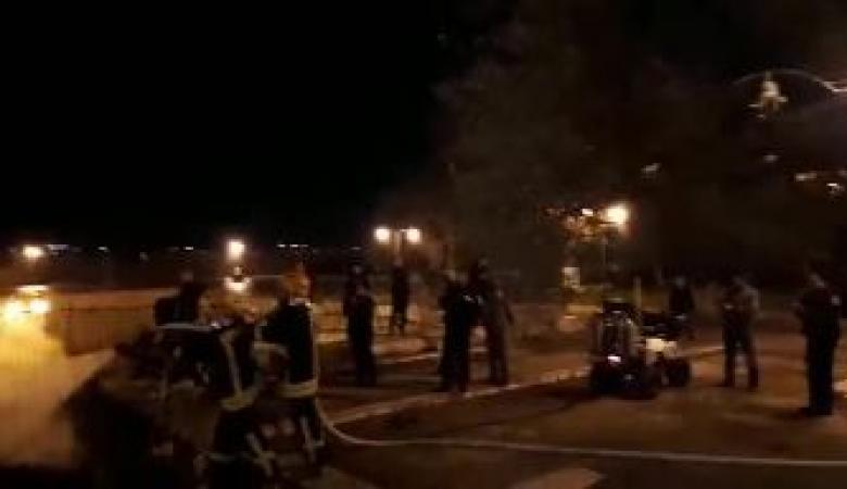 السيطرة على حريق شبّ على سطح المصلى المرواني بالأقصى (فيديو )