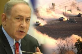 """نتنياهو لحماس : """"ان لم تتوقف الصواريخ سنعلن الحرب """""""