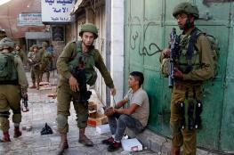 إصابة طفل بكسر في يديه وجروح في وجهه أثناء من مطاردته من قبل جنود الاحتلال