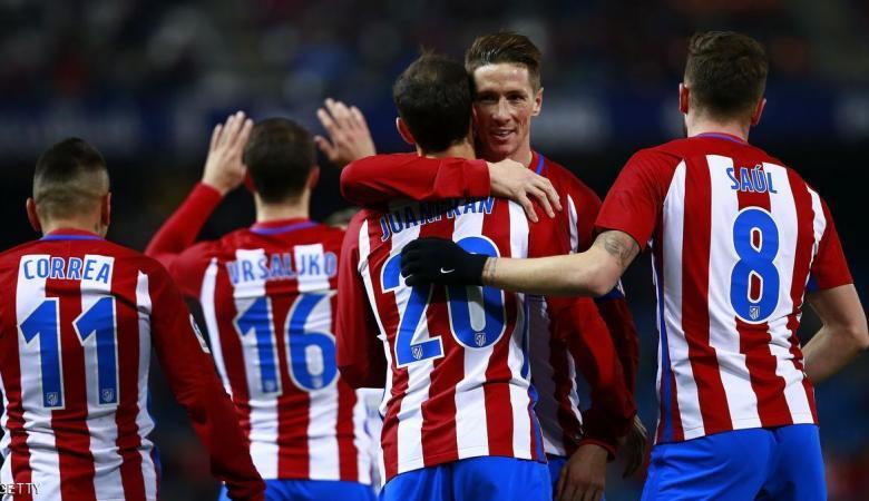 أتلتيكو يقترب من ربع نهائي كأس إسبانيا