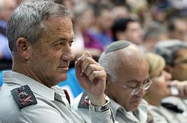 غانتس يهدد غزة : سأعيد الردع الذي مسحه نتنياهو