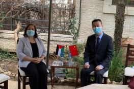 وزيرة الصحة تبحث مع الصين تزويدها بلقاح ضد كورونا