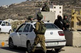 جيش الاحتلال يطلق حملة ضد السيارات المشطوبة في الضفة الغربية