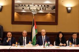 رئيس الوزراء : الحكومة جاهزة لتنفيذ خططها في غزة