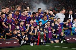 إعلان يربك متابعي نادي برشلونة
