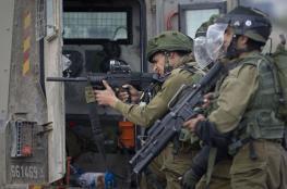 إصابة 4 مواطنين برصاص الاحتلال شمال غرب رام الله