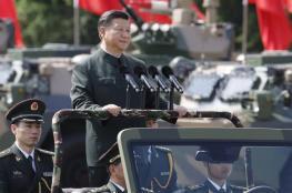 """الرئيس الصيني يهدد بـ""""تحطيم"""" من يحاولون تقسيم بلاده"""