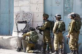 اصابة شاب برصاص الاحتلال في مواجهات شمال سلفيت