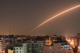 اطلاق صواريخ على عسقلان اثناء تواجد نتنياهو فيها