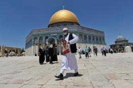 خطيب الاقصى : لن نترك المسجد للمطبعين وزيارتهم له مرفوضه