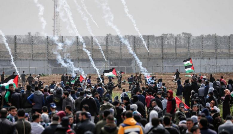 """غزة: عشرات الاصابات برصاص الاحتلال خلال """"مليونية العودة"""""""
