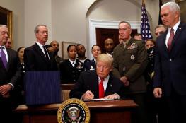 """ترامب يوافق على زيادة ميزانية الدفاع الامريكية بمقدار """" 33 """" مليار دولار"""