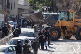الاحتلال يوزع اوامر هدم لعدد من المنازل في بلدة سلوان بالقدس