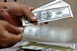 ارتفاع على سعر الدولار مقابل الشيقل