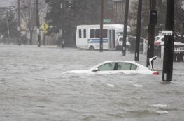 عاصفة قوية تجتاح شمال شرق الولايات المتحدة