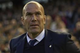 زيدان ينشر تغريدة بعد إعلان رحيله عن ريال مدريد