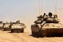 تدريبات اسرائيلية استعدادا لحرب جديدة مع غزة