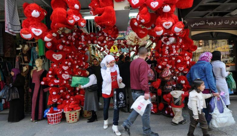 الإفتاء الفلسطينية توضح الحكم الشرعي بالاحتفال بعيد الحب