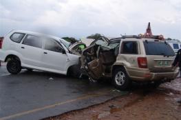 مصرع شخص وإصابة 137 في 205 حادث سير الأسبوع الماضي