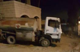 ضبط 2500 لتر من الوقود المهرب غرب رام الله