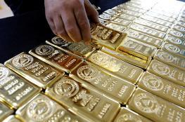هبوط على اسعار الذهب