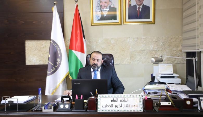 النائب العام يصدر قرارا باغلاق نيابة رام الله امام الجمهور