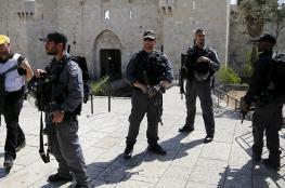 وزير الامن الاسرائيلي : لدينا خطة لوقف عمليات باب العامود